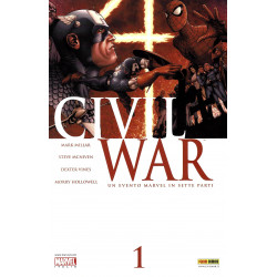 Civil War 1, Marvel...