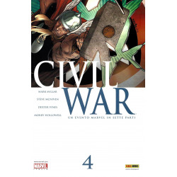Civil War 4, Marvel...