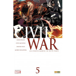 Civil War 5, Marvel...