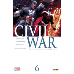 Civil War 6, Marvel...
