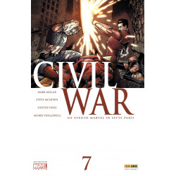Civil War 7, Marvel...